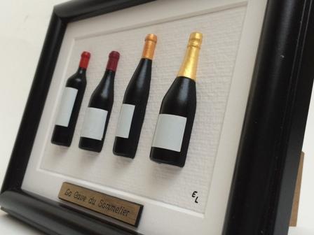 id e cadeau vin cadre tonneau ou bouteilles de vin personnalisable. Black Bedroom Furniture Sets. Home Design Ideas