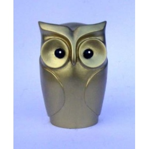 Statuette de Hibou Or Face